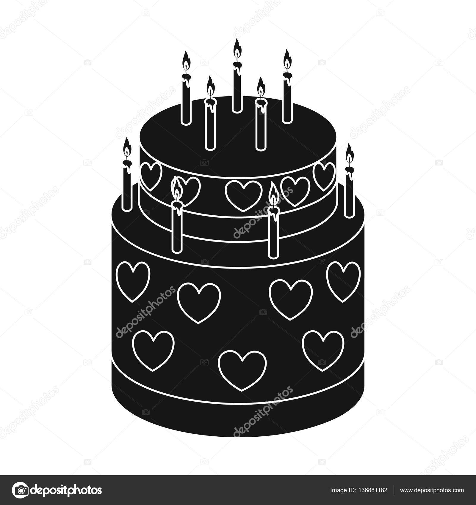 Cake Symbol Font Clipart Library