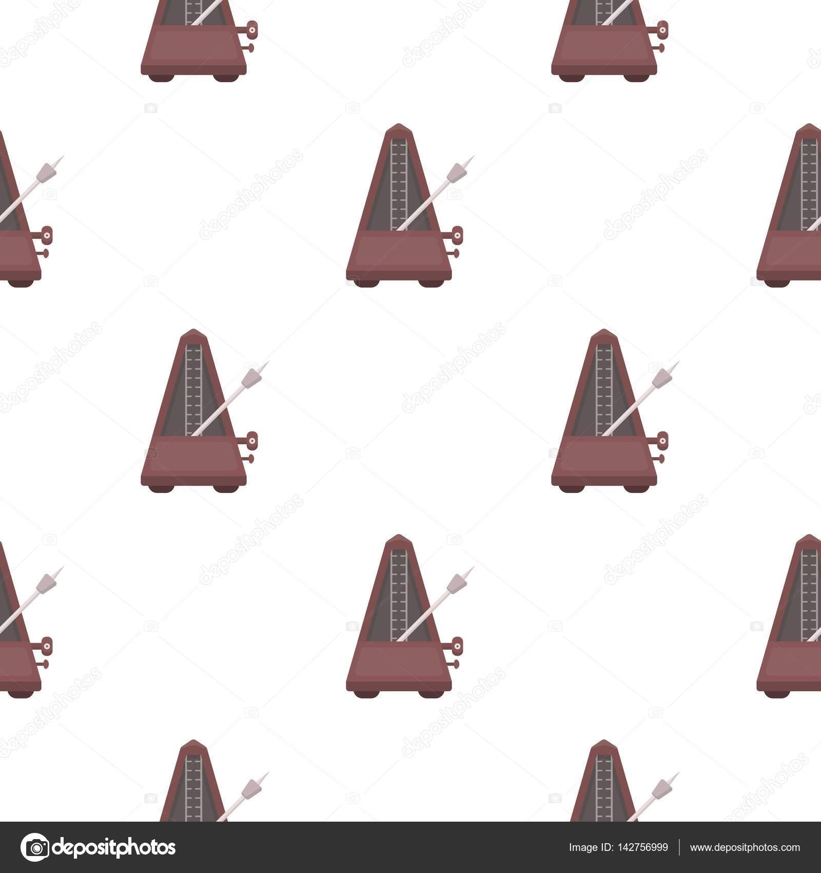 Metronom symbol im cartoon stil die isoliert auf wei em for Auflagerberechnung beispiel