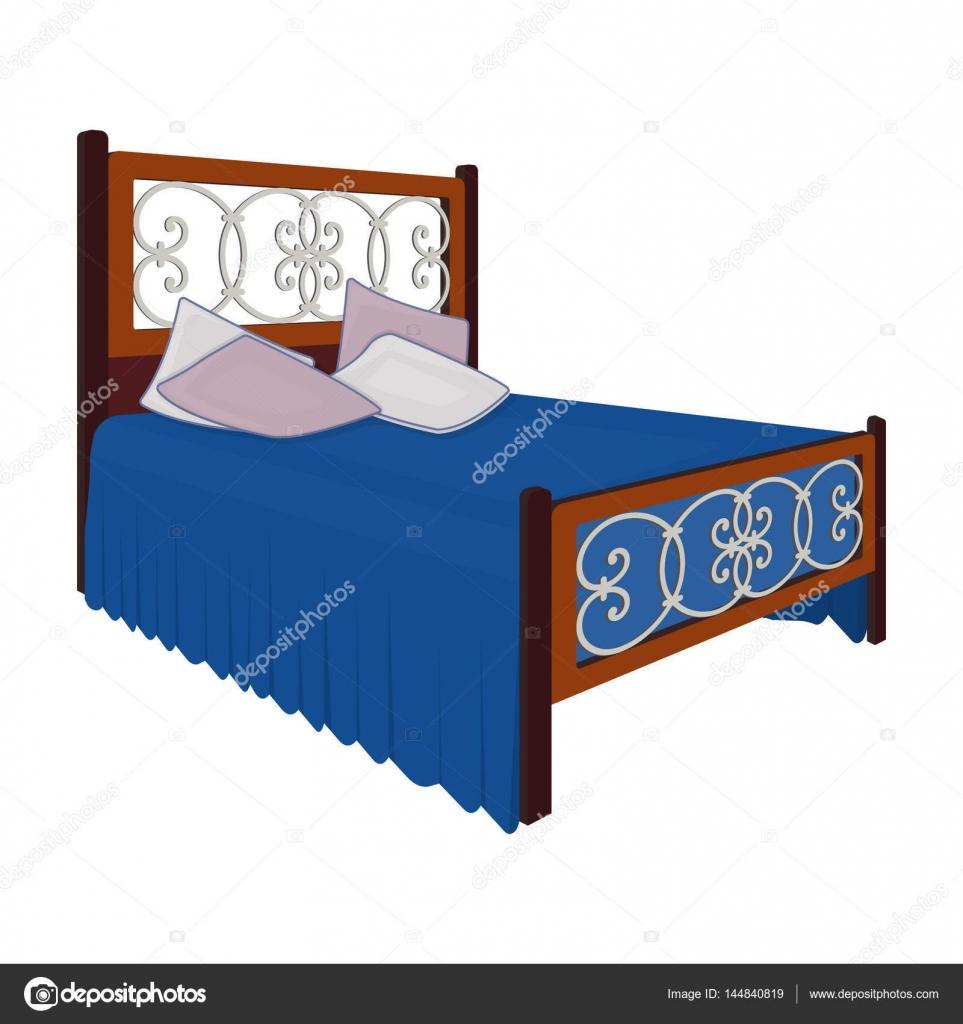 Verschiedene Bett Teenager Sammlung Von Holzbett Für Mit Graffiti Auf Der Rückseite.