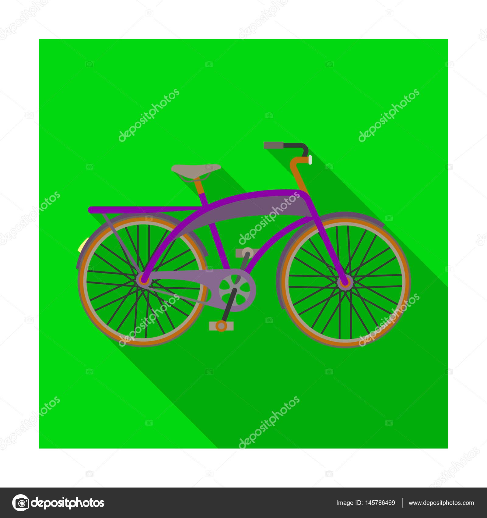 Rennrad für Spaziergänge mit einem halbrunden Rahmen. Anderes ...