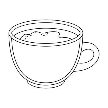 Espresso coffee.Different types of coffee single icon in outline style vector symbol stock illustration web.