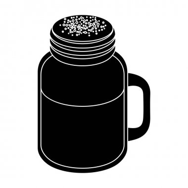 Milk shake.Different types of coffee single icon in black style vector symbol stock illustration web.