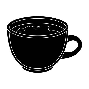 Espresso coffee.Different types of coffee single icon in black style vector symbol stock illustration web.