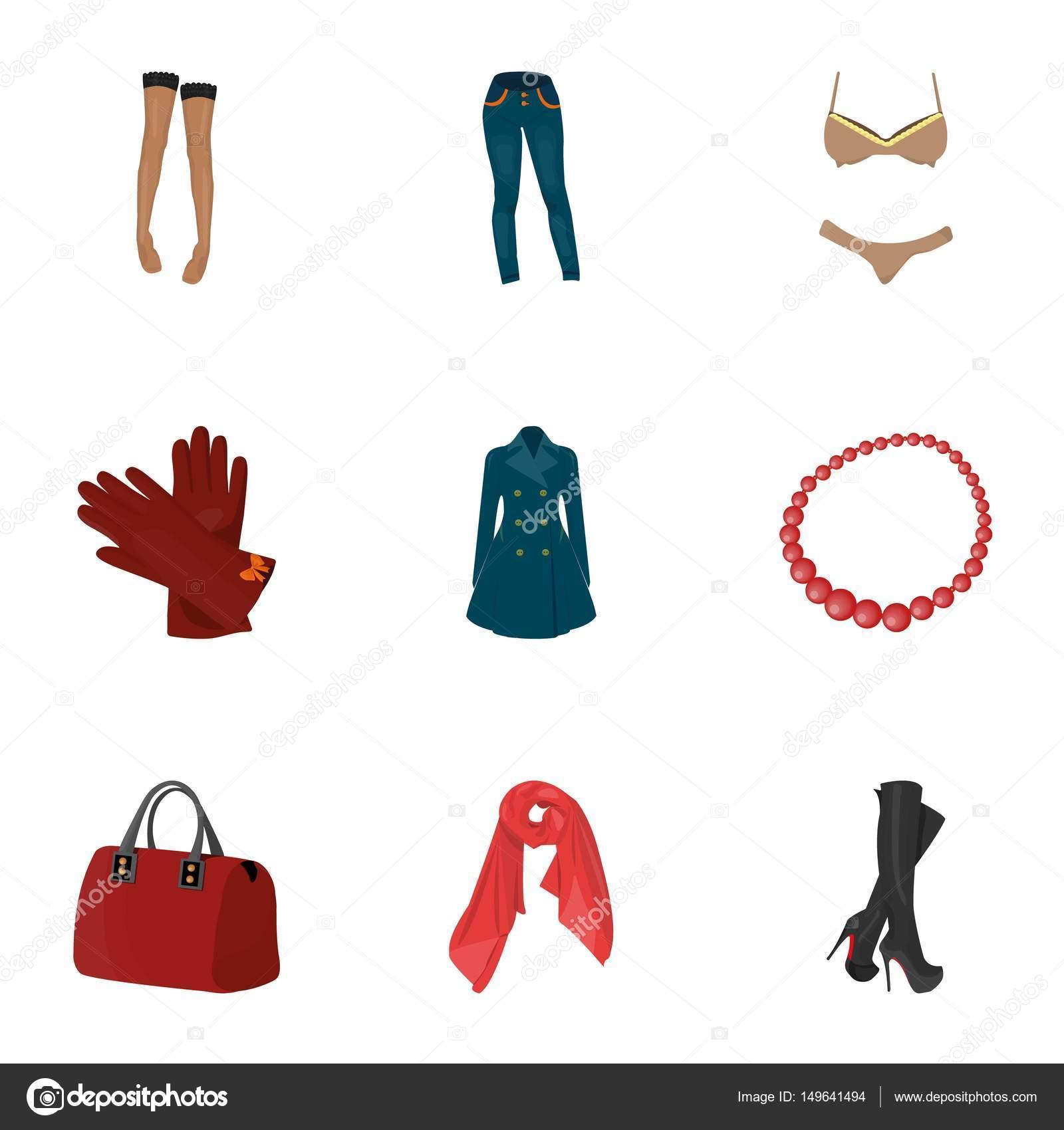 Imágenes Prendas De Vestir De Mujer Animadas Fotos Sobre Tipos De