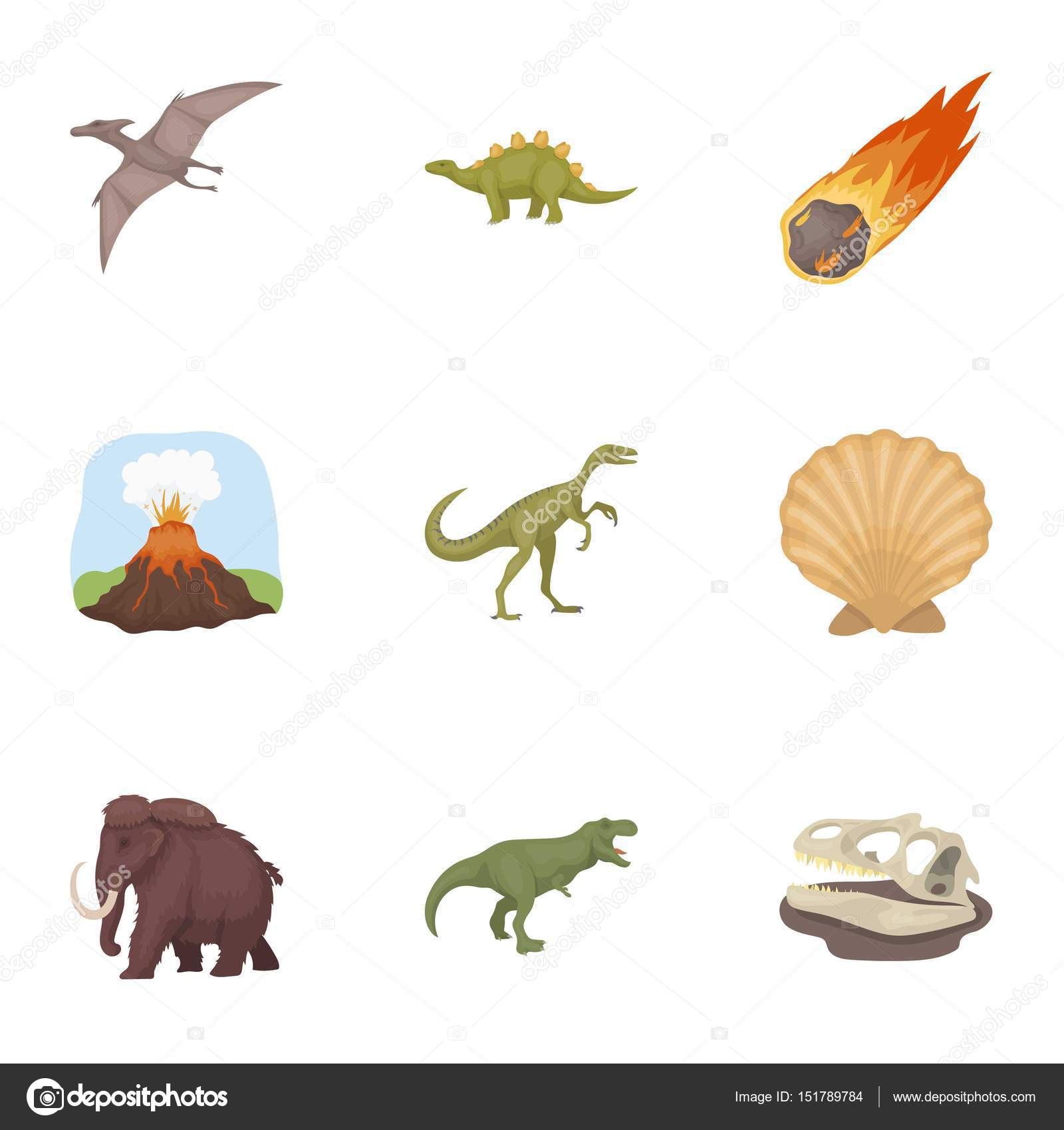 Image of: Glad Ancient Extinct Animals And Their Tracks And Remains Dinosaurs Tyrannosaurs Pnictosaursdinisaurs Depositphotos Ancient Extinct Animals And Their Tracks And Remains Dinosaurs