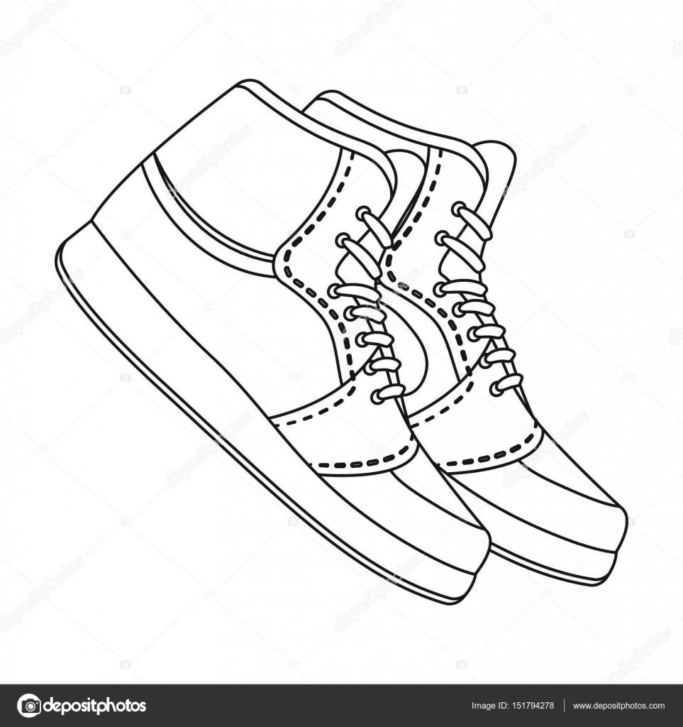 Zapatillas de baloncesto. Único icono del baloncesto en la web de ...