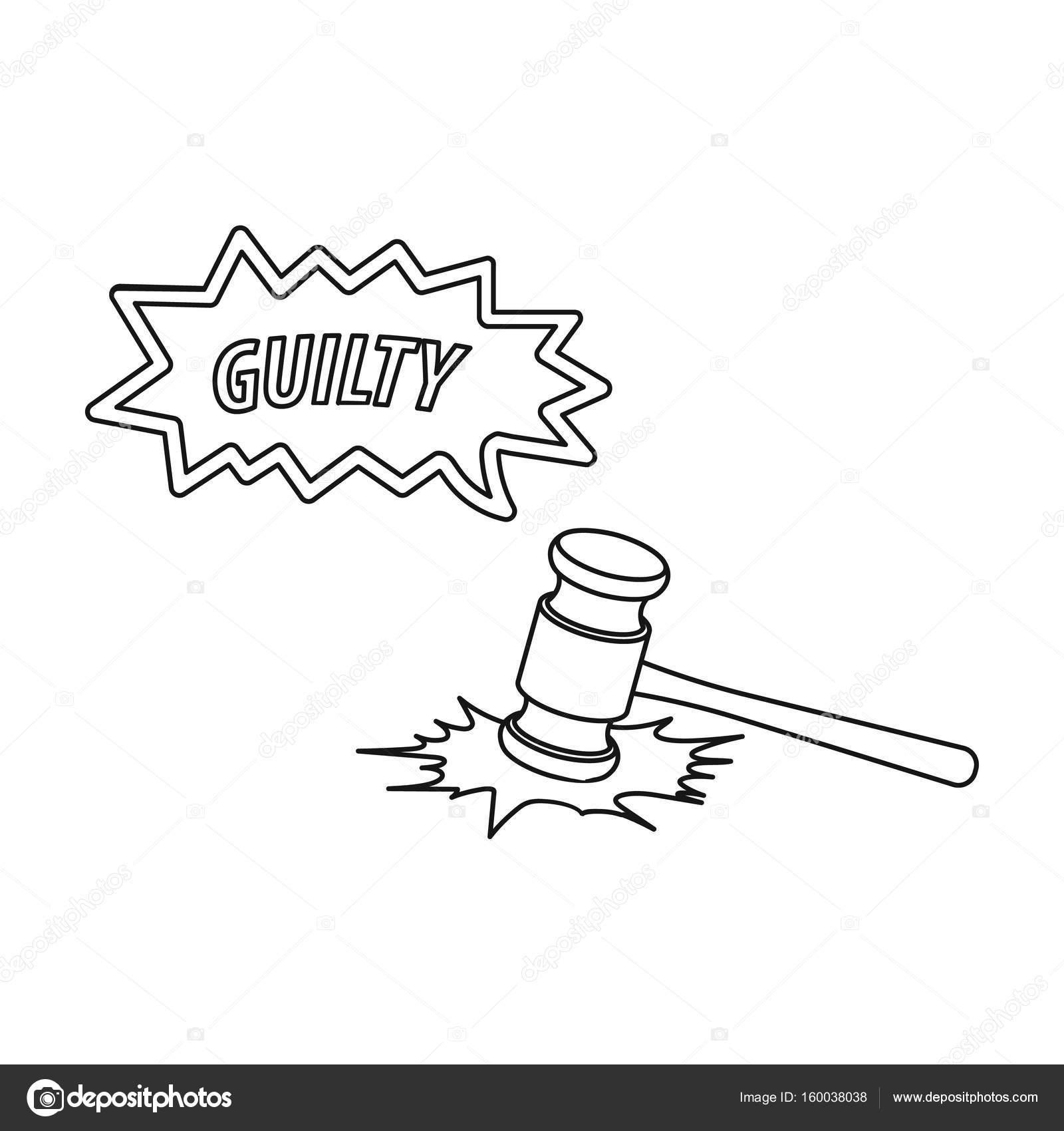 Imágenes La Justicia Para Colorear Justicia Y Condena