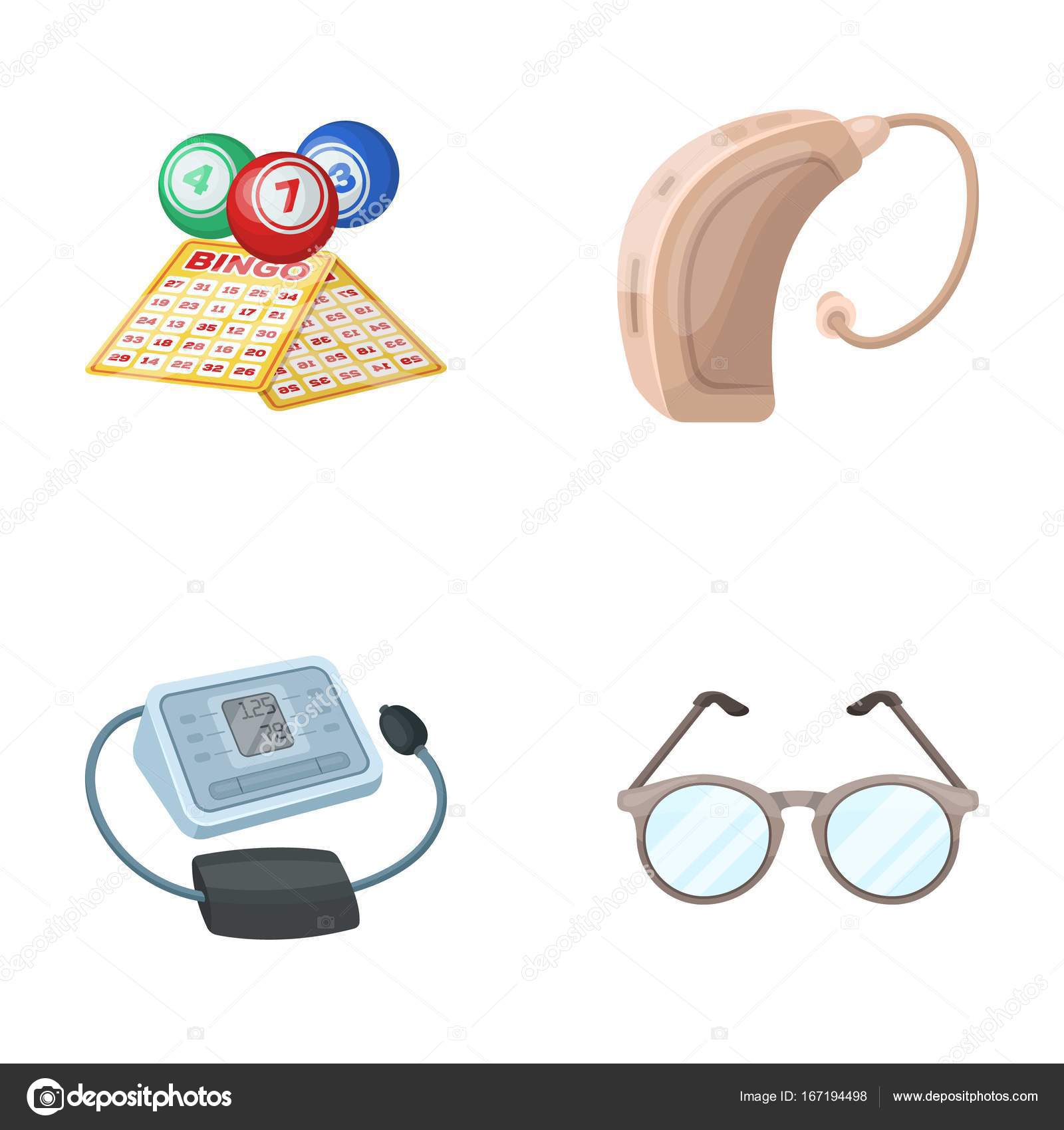 Lottery Hearing Aid Tonometer Glassesold Age Set Collection