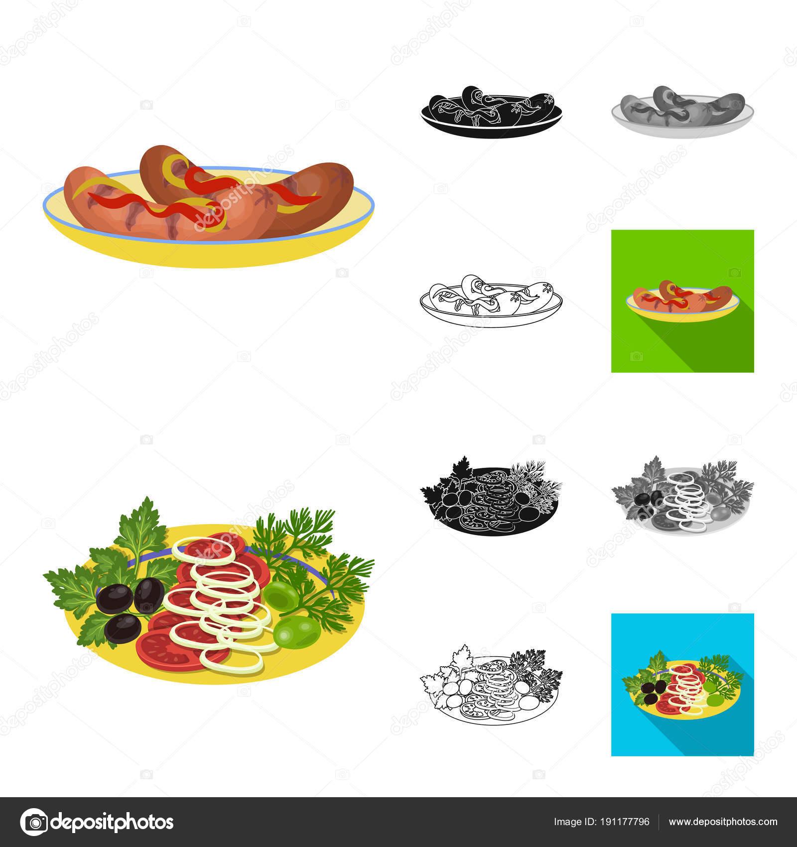 negro los de Cocinar monocromo iconos plano cartoon comida PqAEwxEX1
