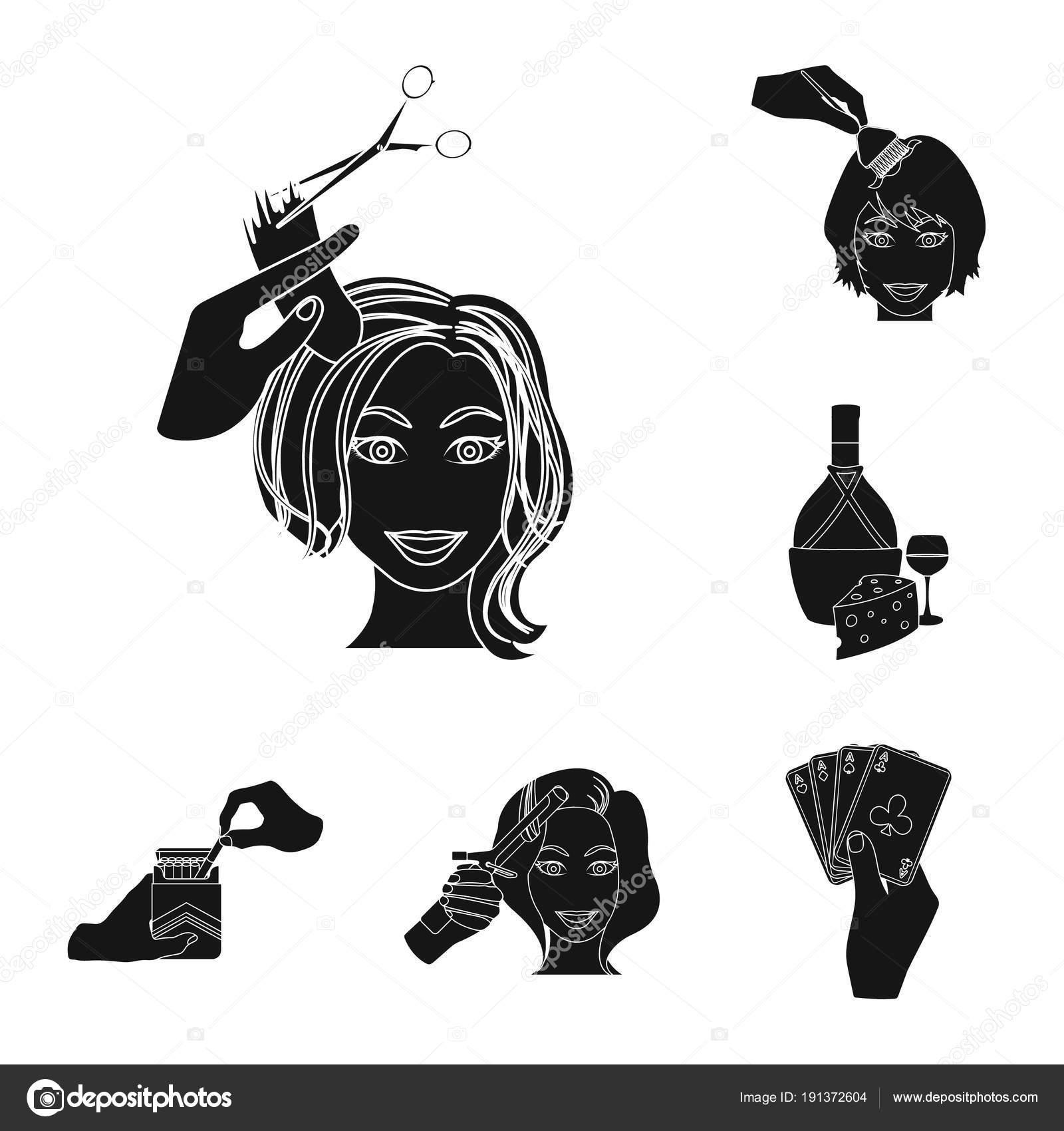 Manipolazione di mani nero icone in insieme di set per il disegno.  Illustrazione di riserva simbolo di vettore del movimento mano — Vettoriali  di ... 795f6e833380