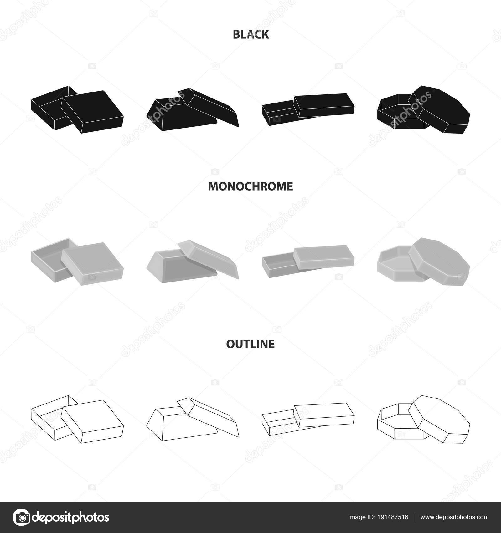 Caso, shell, marco y otro icono de la web en negro, monocromo ...