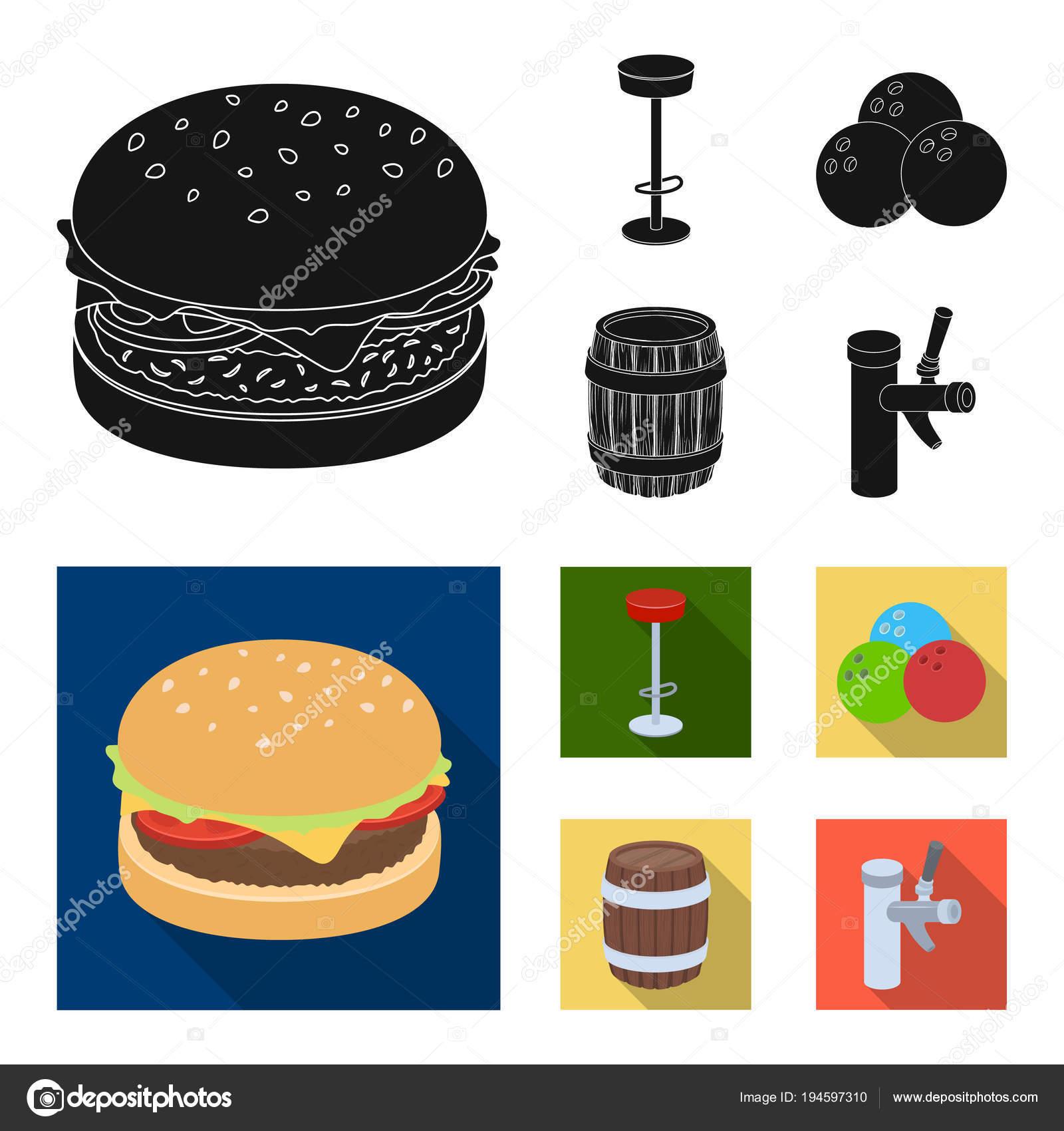 Stellen RestaurantCaféStuhlBowling RestaurantCaféStuhlBowling KugelPub Icons Sammlung ZkXuOiP