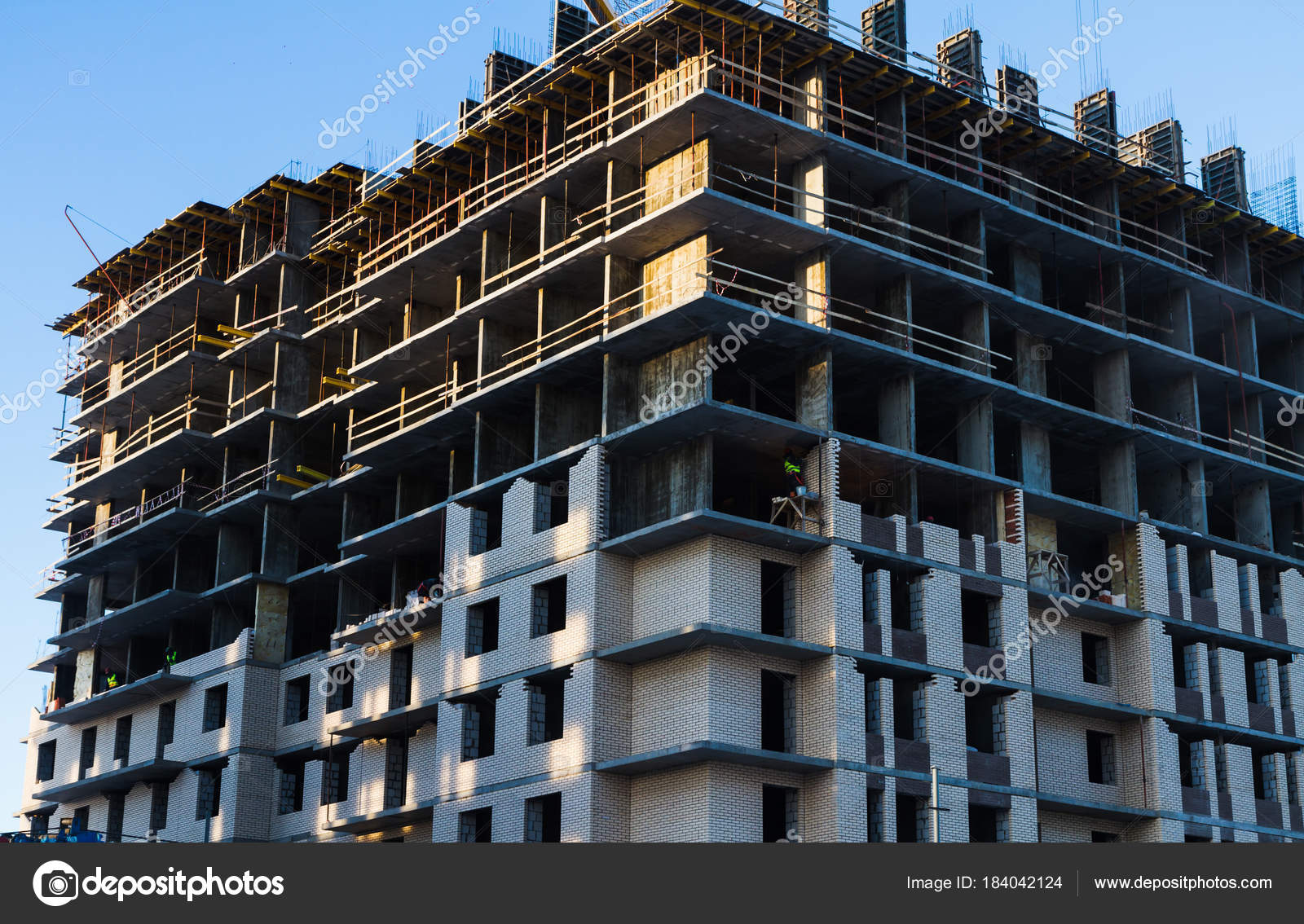 constructing a multi storey bulding A chinese development company builds a 57-storey tower in a record 19 days in changsha, hunan province in southern china the video shows a mini sky city skyscraper built at a brick-by-brick rate.