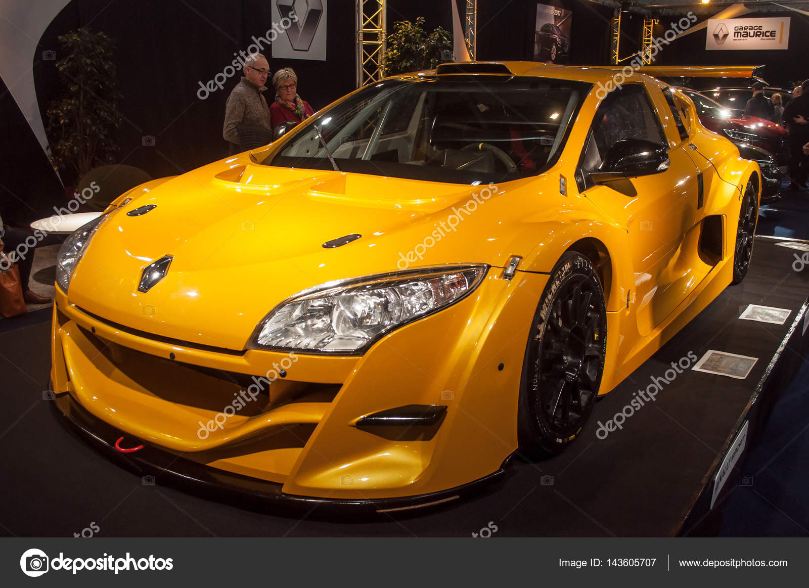 Renault Megane Rs Trophy Redaktionelles Stockfoto C Neydtstock
