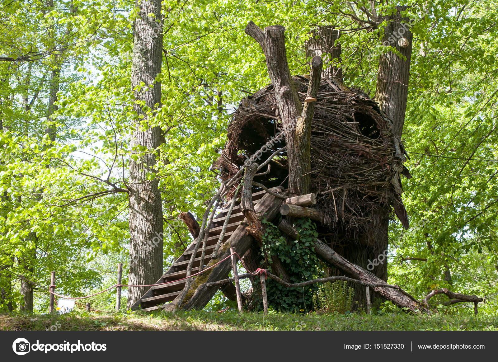 cabane en bois foret excellent une cabane dans la fort. Black Bedroom Furniture Sets. Home Design Ideas