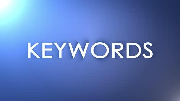 SEO Keywords, Loop, 4k