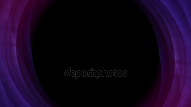 Magical Particles Ring Abstract Background, Animation, Rendering, Loop, 4k