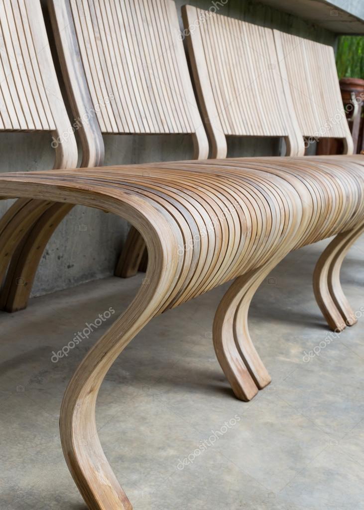 Sedie In Legno Design Moderno.Stile Moderno Di Design Sedia In Legno Foto Stock