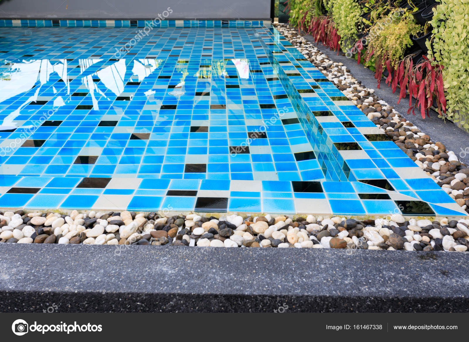 Swimming Pool Shallow For Kids Stock Photo C Sutichak 161467338