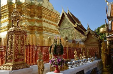 Wat Phra That Doi Suthep in Chiang Mai, probably the most beautiful temple in Thaliand