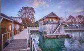 Fotografie Bootshaus in Seewalchen am Attersee