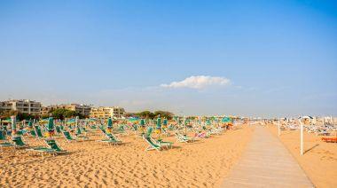 Umbrella beach for relaxing and sun set beach.