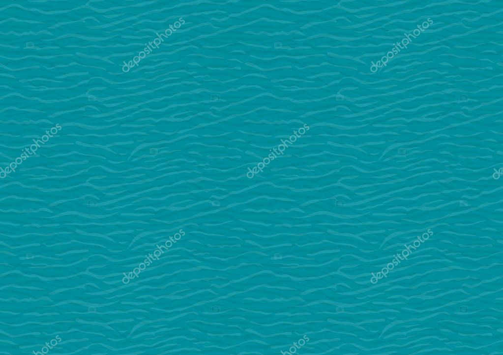 Seamless pattern of water waves