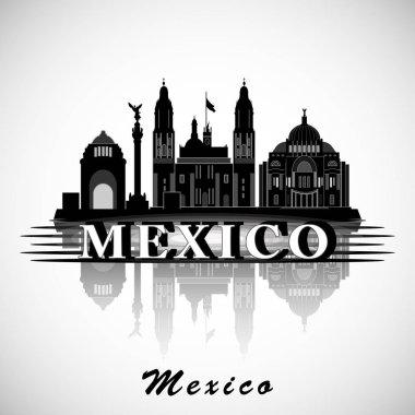 Modern Mexico City Skyline Design