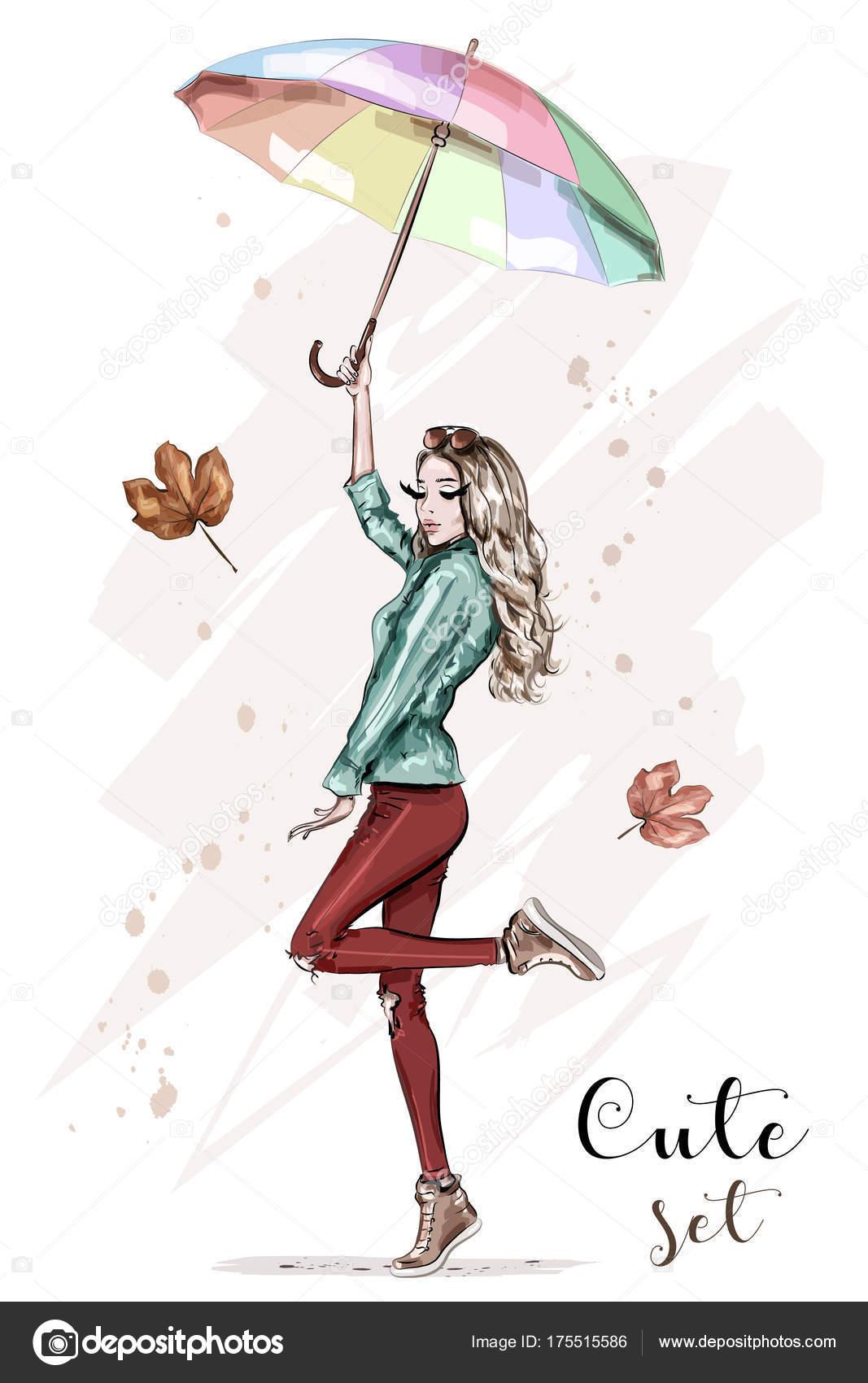 Рисованная одежда девки — img 15