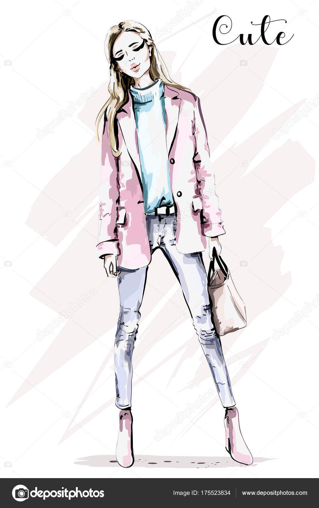 Vector Sketch Fashion Design