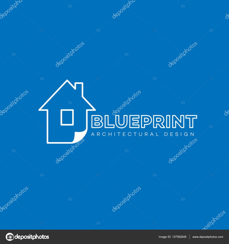 Blueprint logo template stock vector jazzzzzvector 137582648 blueprint logo template design in outline style vector illustration vector by jazzzzzvector malvernweather Images