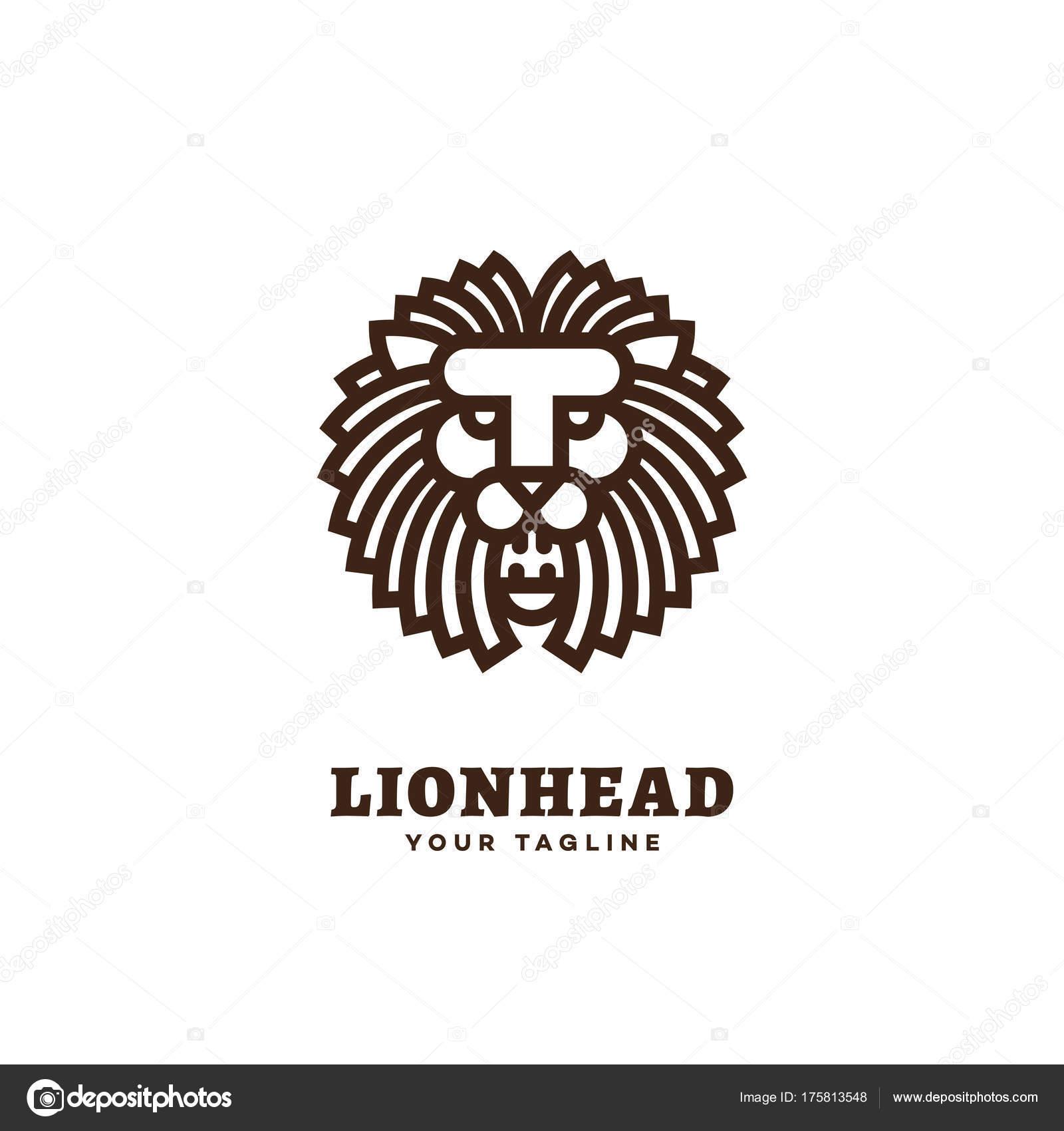 ライオンのロゴのテンプレート ストックベクター jazzzzzvector