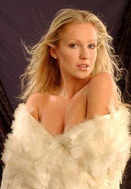Eagle Wings - Stunning Blonde - Black Background