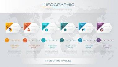 Vector infographics timeline design