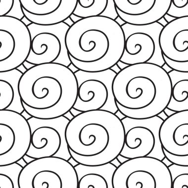 Colouring book with a picture of  wave