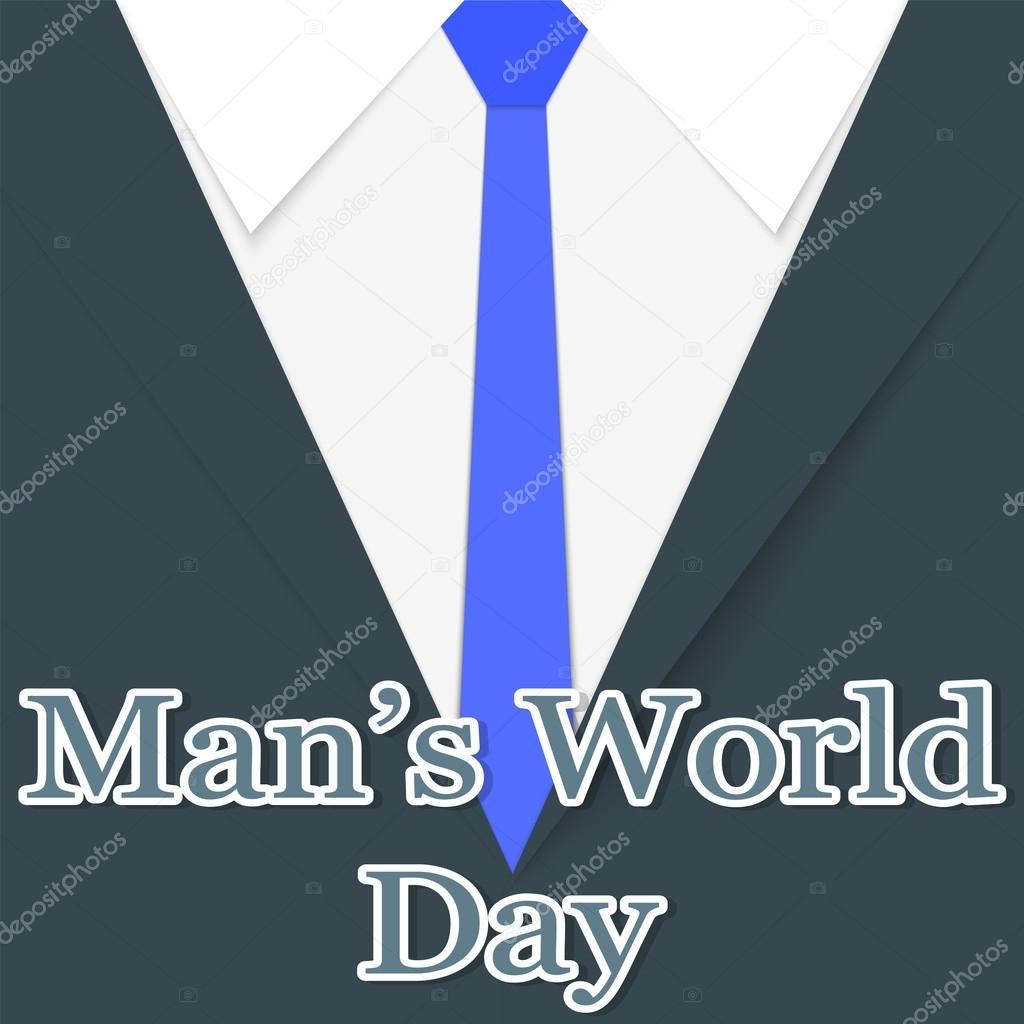 Postcard To The Feast Of The Mens World Daygreetings To The Mens