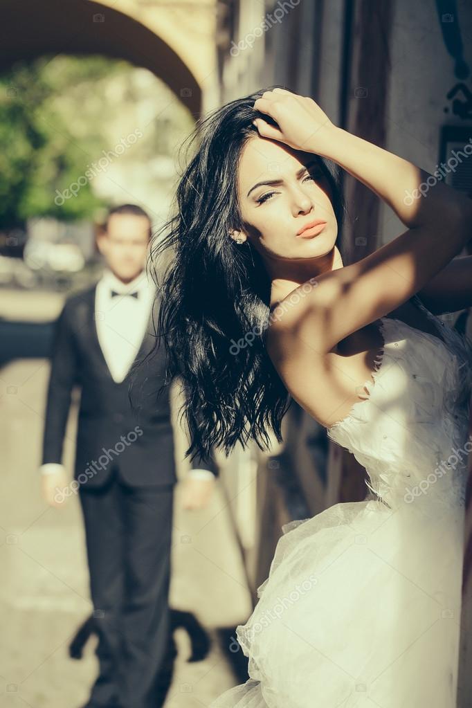 Сексуальные девушки на свадьбе фото 724-538