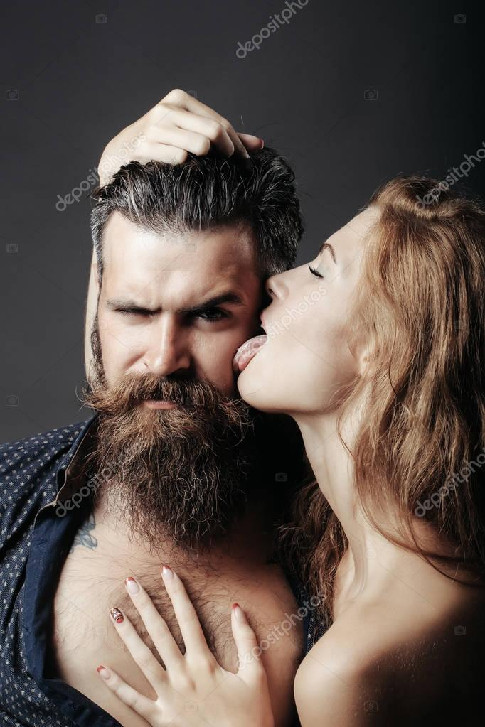 Lick man woman