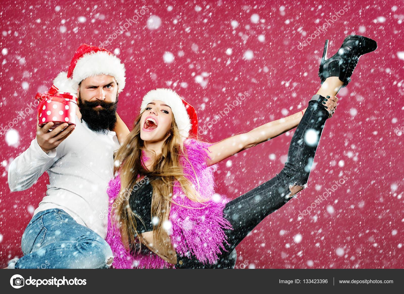 happy new year couple stock photo 133423396