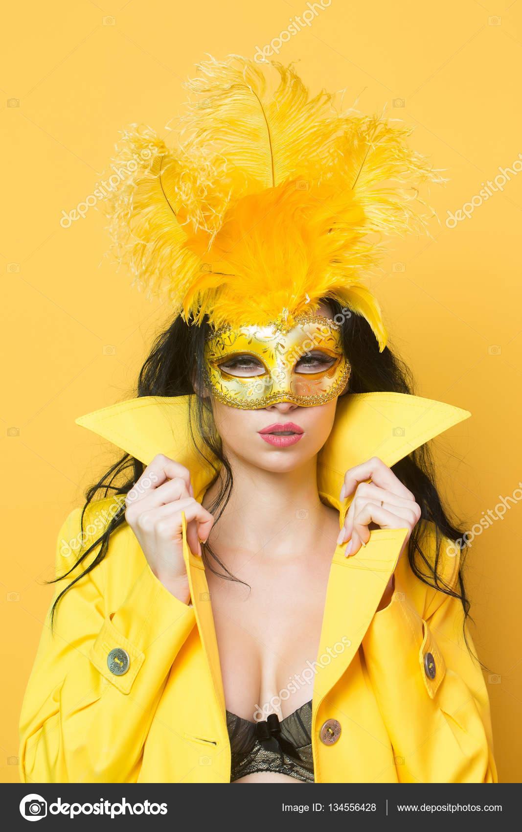 Carnaval De Au Masque Jolie Fille T4IH0qwP
