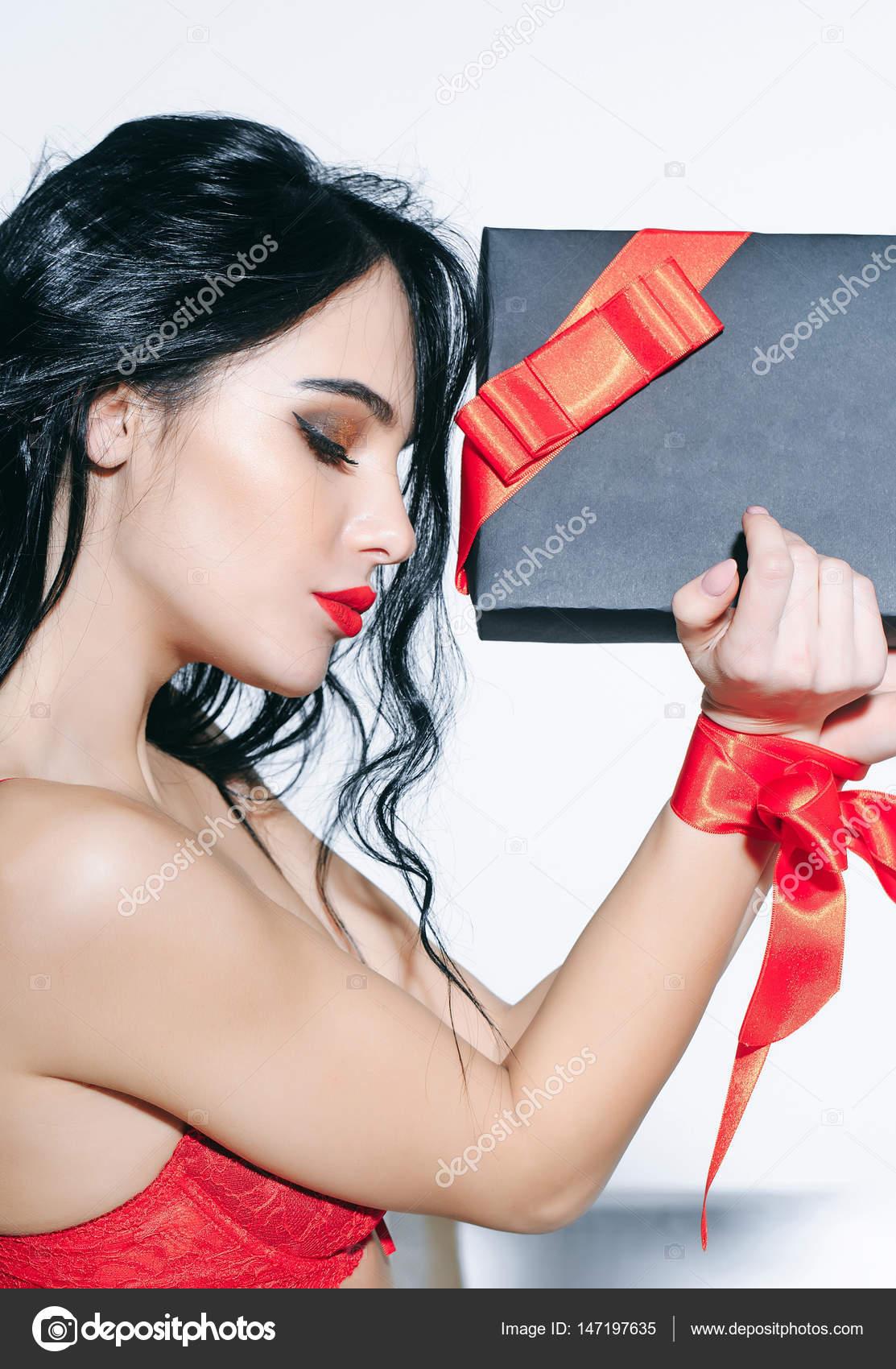 Pack De Chicas Con Cabello Largo Mujer Sexy Con Labios