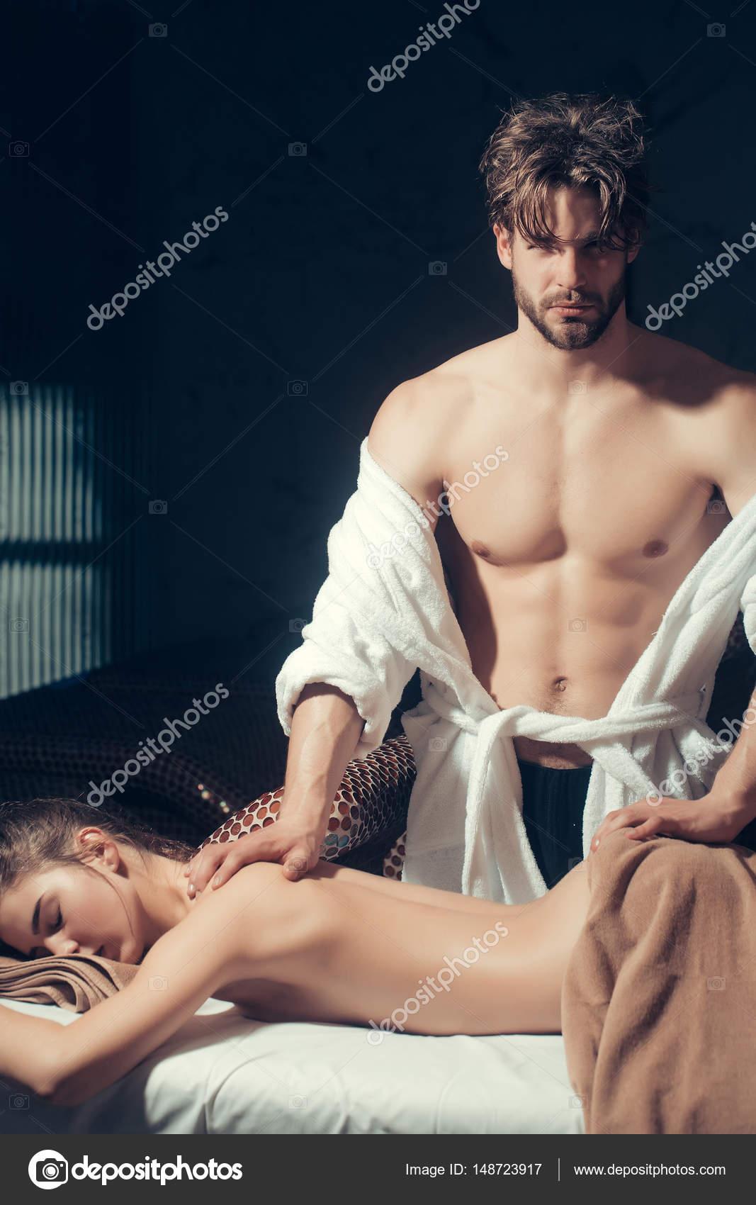 mooien vrouwen body sexy massage