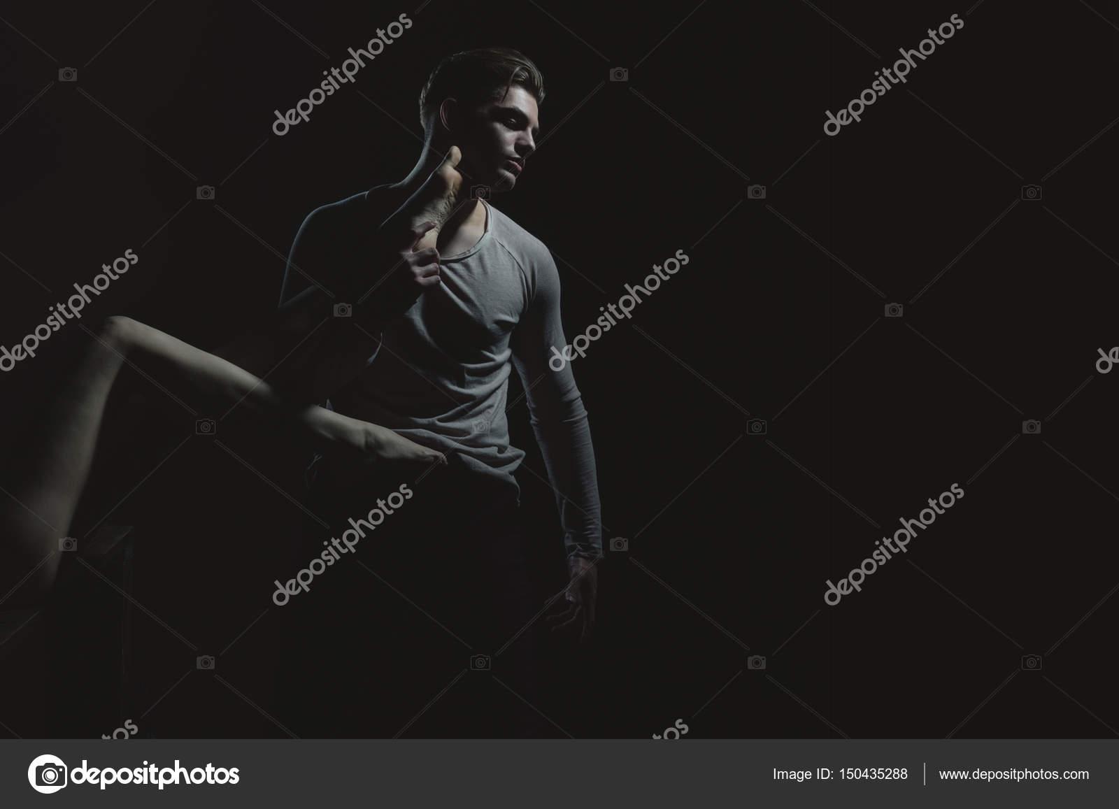 Σέξι γυμνό μαύρο θηλυκό