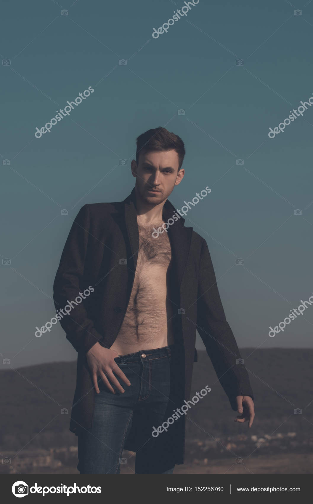 голые волосатые мужчины фото