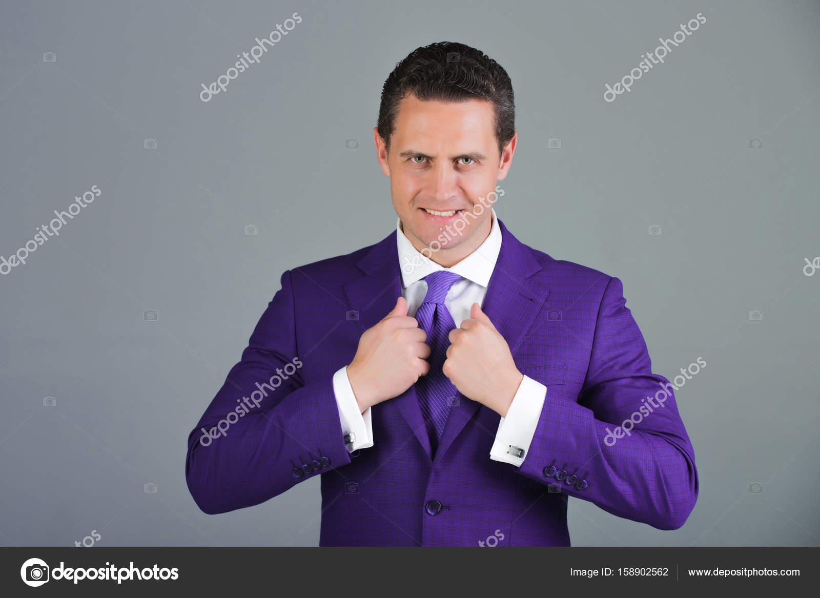 In Giacca Viola Tenuta Formale qwBxtw Di Elegante Collare Uomo rwaqtpfr