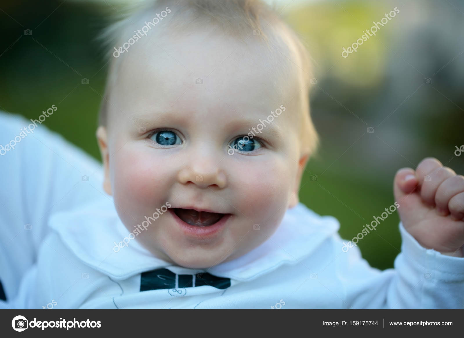 Happy Cute Baby Boy Smiling Stock Photo Tverdohlibcom 159175744