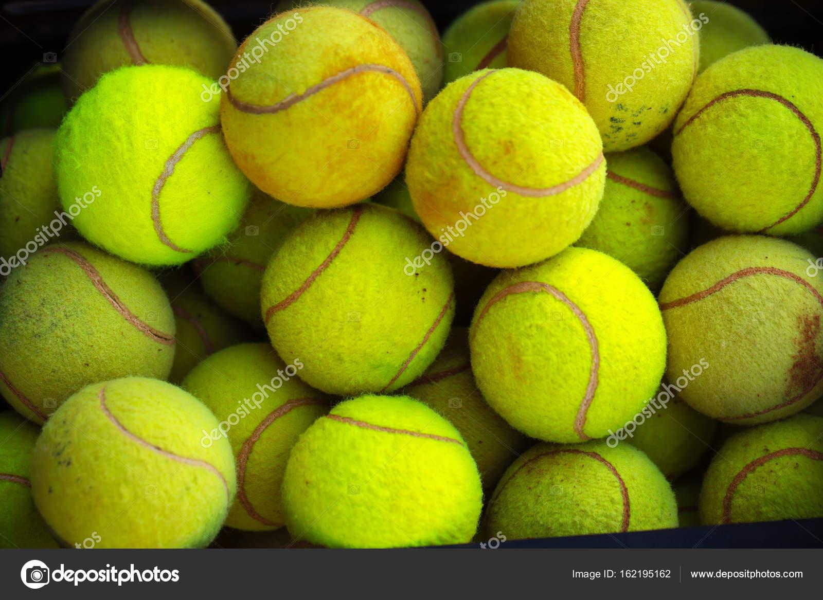 Tennis Ball Background Green Color Stock Photo C Tverdohlib Com