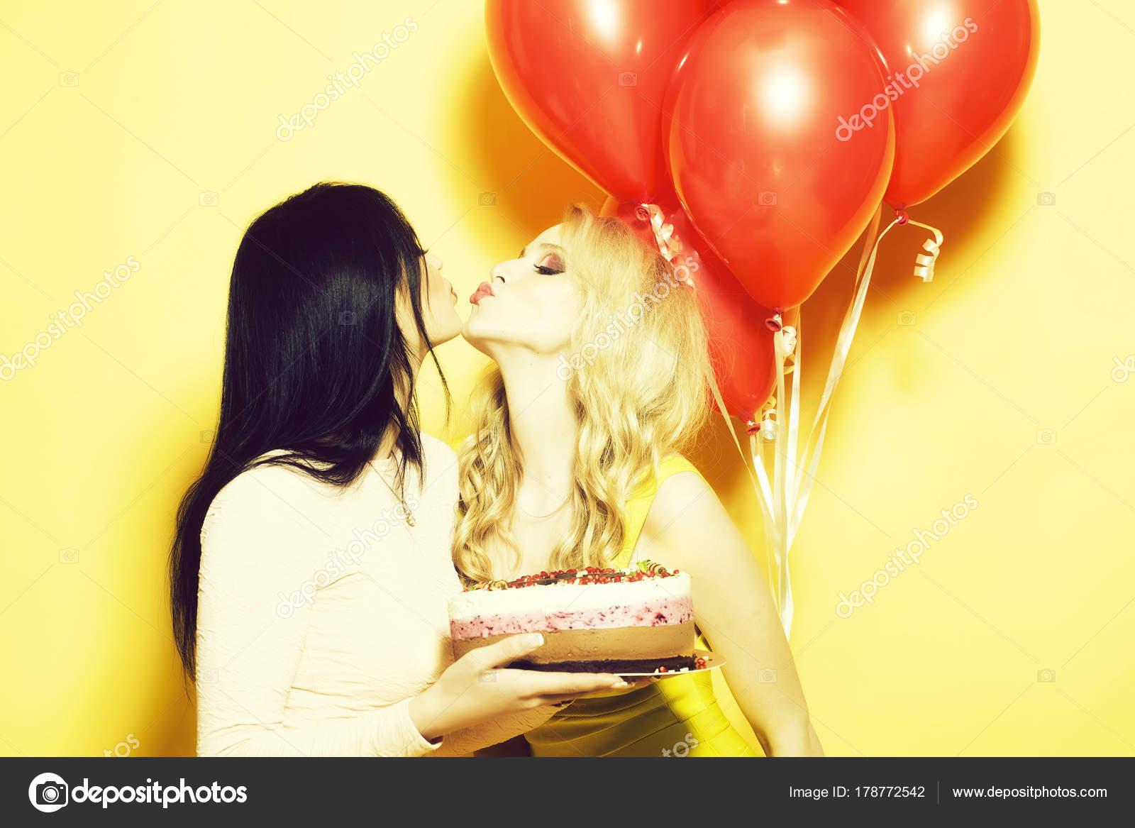 Sexy Lesbians Rubbing Pussy