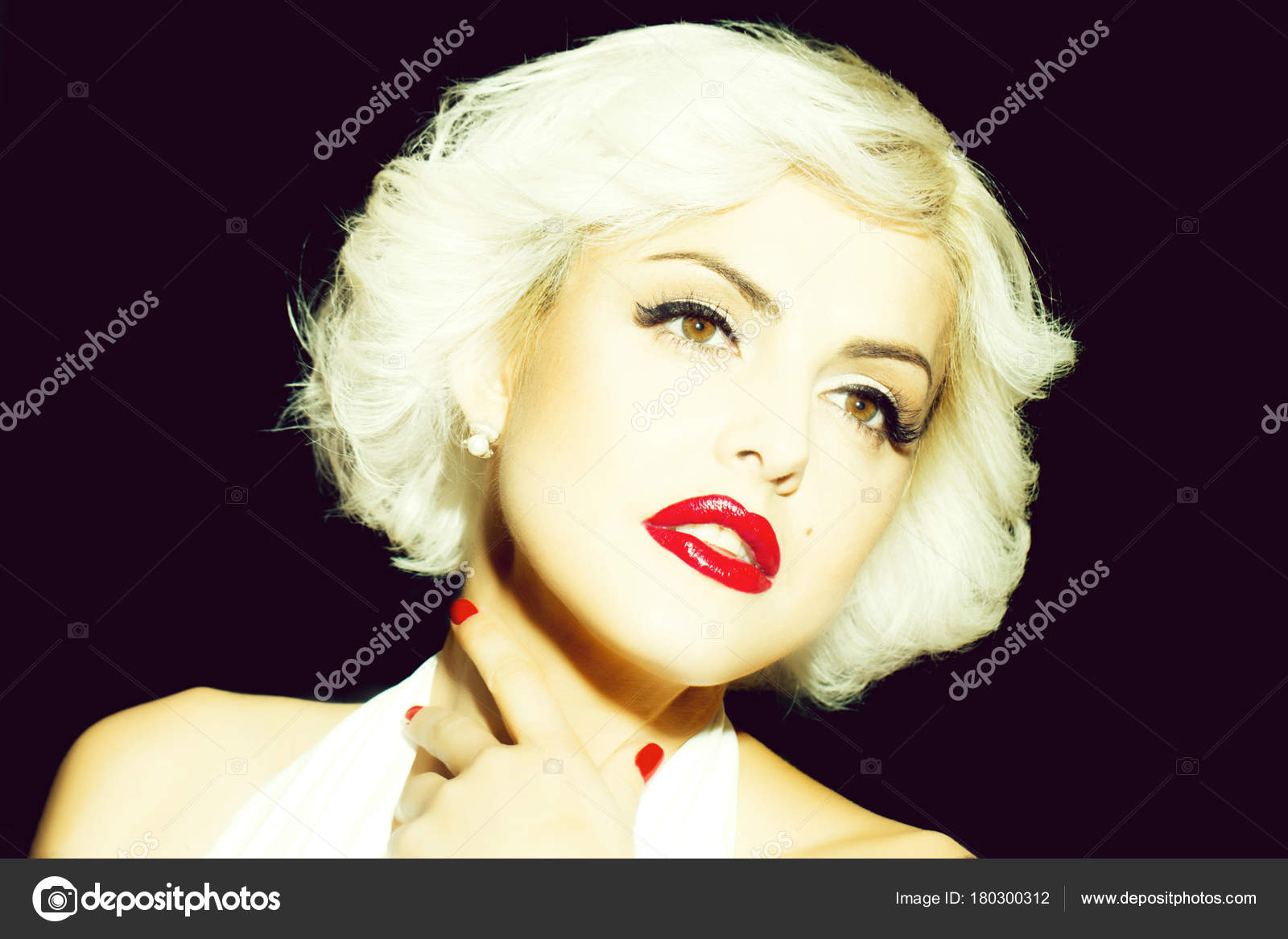 Young blonde monroe share your