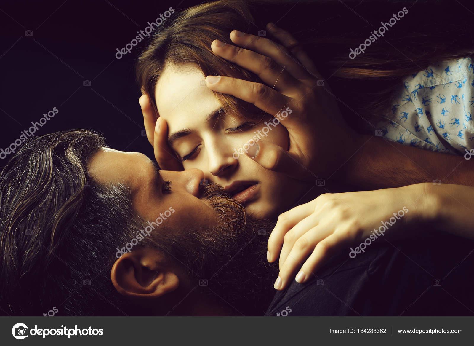 Sexy Couple Kisses  Stock Photo  Tverdohlibcom 184288362-9552